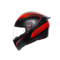 AGV K1 Warmup Matt Black/Red